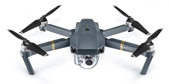 DJI выпускает компактный складной дрон Mavic Pro