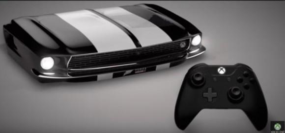 Xbox One S в виде Ford Mustang заказывали?
