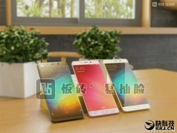 Xiaomi Mi Note 2 с изогнутым дисплеем появится в ноябре