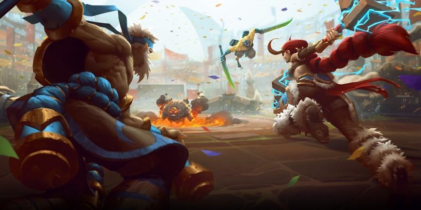 Battlerite покоряет Steam