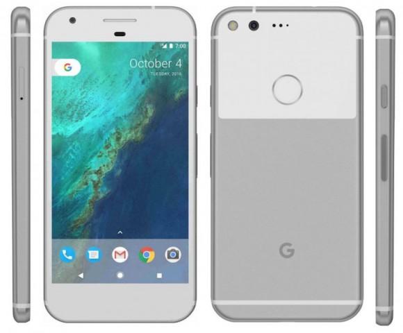 Google Pixel и Pixel XL показались на пресс-рендерах до анонса