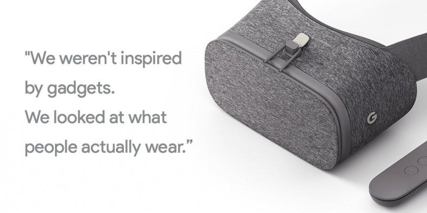 Google представила шлем Daydream View за $79