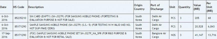 Samsung тестирует бюджетный Galaxy J3 (2017)