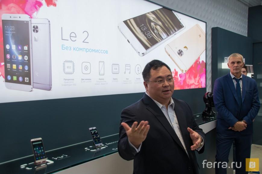Виктор Сюй рассказывает журналистам о стратегии LeEco