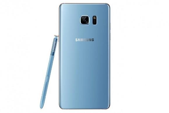 Осторожно, голубой Samsung Galaxy Note 7