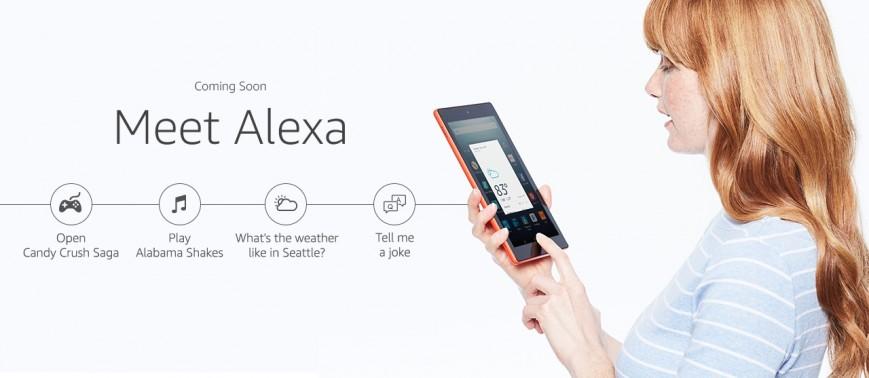 Amazon внедряет голосовой помощник Alexa на планшеты Fire HD