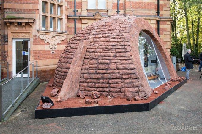 В Лондоне показали прототип жилища людей на Марсе (21 фото)