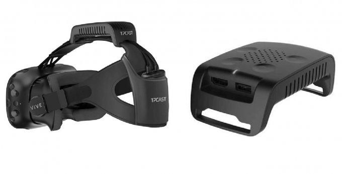 Новый аксессуар делает VR-шлем HTC Vive беспроводным (видео)
