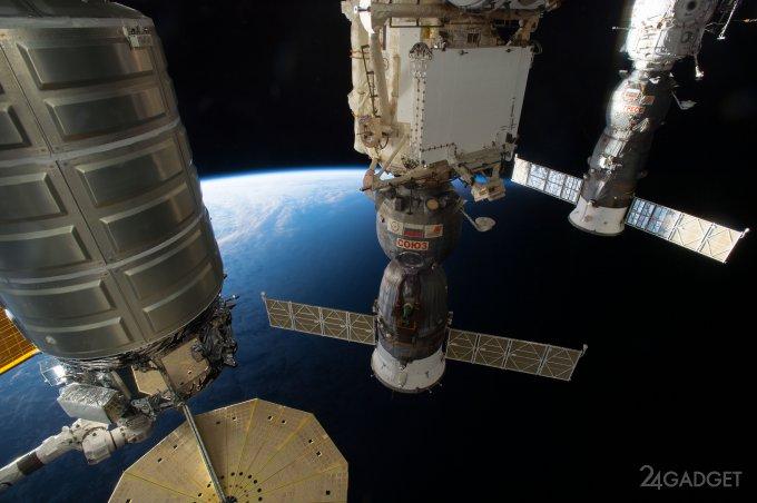 На МКС появится искусственная гравитация (3 фото)