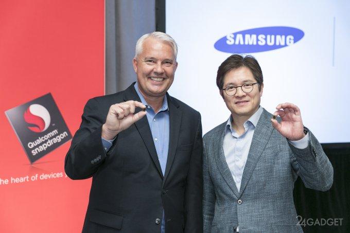Samsung и Qualcomm выпустят 10-нм чип Snapdragon 835 с поддержкой Quick Charge 4.0