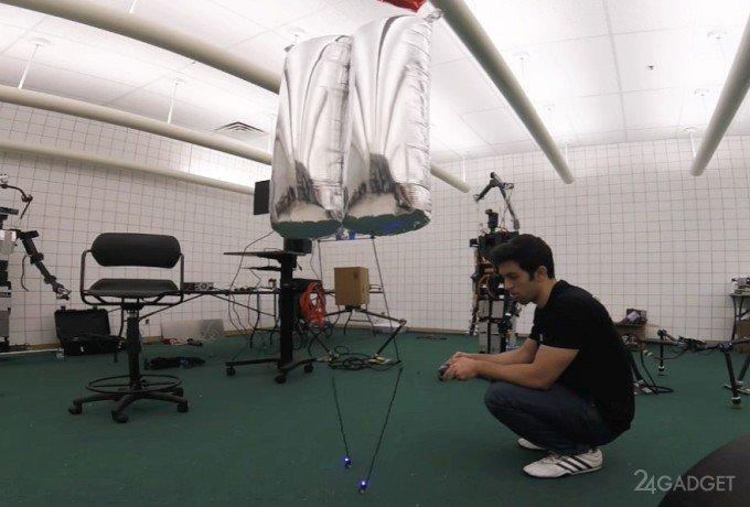 BALLU — возможно, самый безобидный для человечества робот (видео)