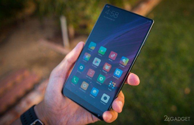 Дроп-тест безрамочного Xiaomi Mi Mix (видео)