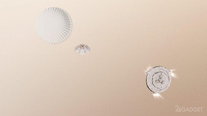 ЕКА озвучил причину крушения зонда Schiaparelli на Марсе