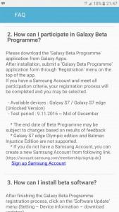 Бета-тест Android 7.0 Nougat для Samsung Galaxy S7 и Galaxy S7 edge стартует 9 ноября