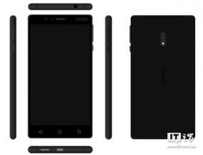 Смартфон Nokia D1C со сканером отпечатков пальцев показался на рендерах