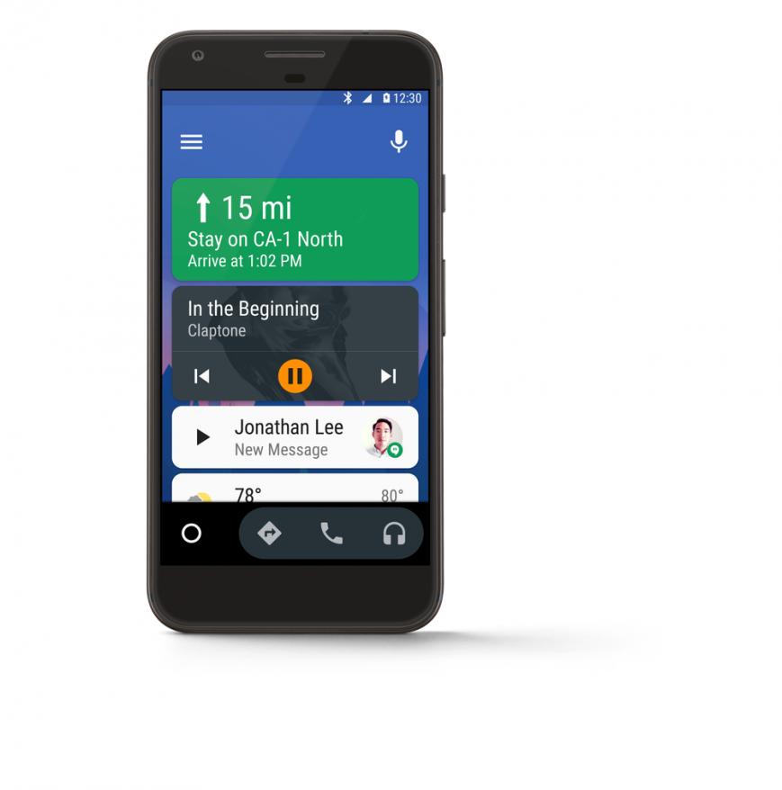 Google выпустила Android Auto в виде самостоятельного приложения