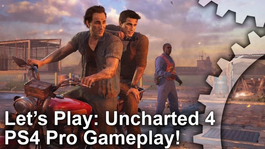 Digital Foundry показала как выглядят игры на PlayStation 4 Pro