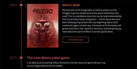 Metro 2035 не за горами