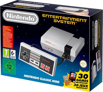 Ретро-консоль Nintendo Classic Mini поступила в продажу
