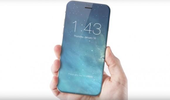 iPhone 8 окажется стеклянным и получит беспроводную зарядку