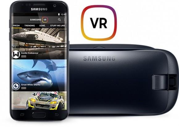 Мобильный сервис Samsung VR заработал в России