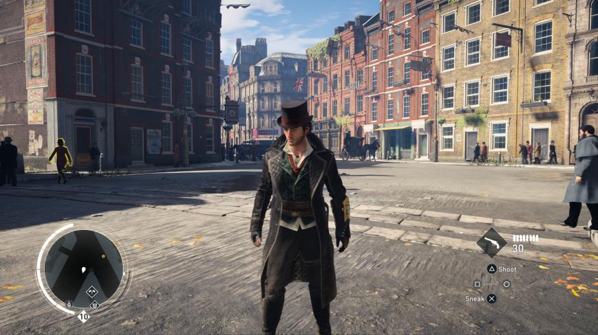 С новым патчем Assassin's Creed: Syndicate стала выглядеть на PS4 Pro хуже, чем на PS4