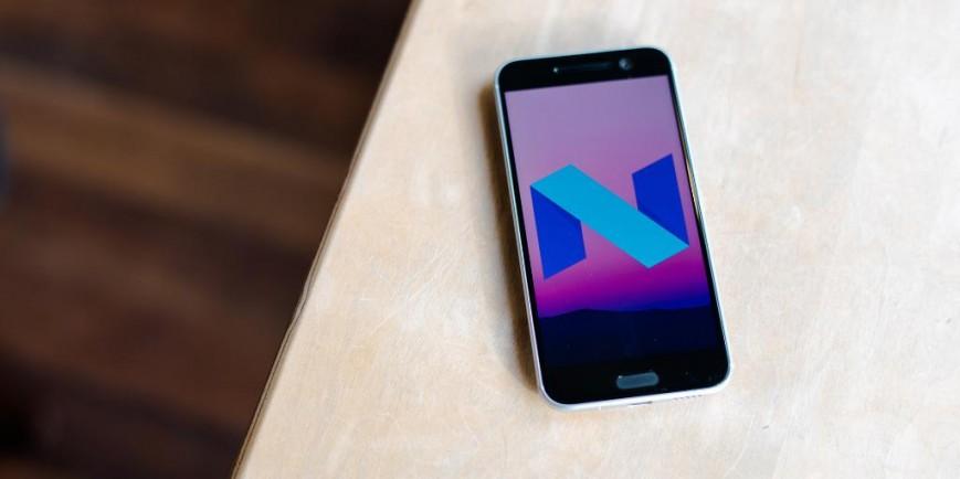 HTC 10 начинает обновляться до Android Nougat