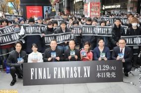 Final Fantasy XV пользуется феноменальной популярностью в Японии