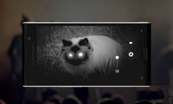 Объявлена российская цена на смартфон Lumigon T3 с камерой ночного видения