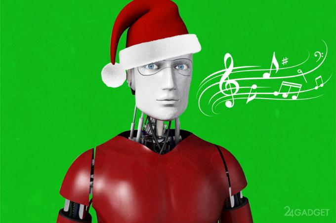 Рождественская песенка искусственного интеллекта (видео)