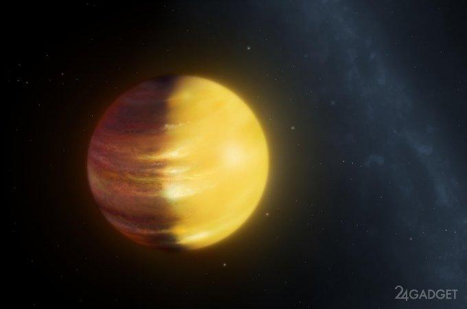 Астрономы нашли планету с облаками из драгоценных камней