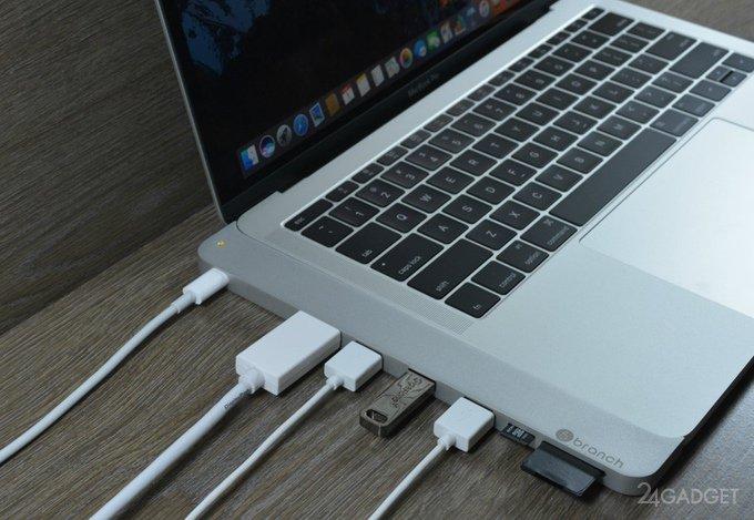 Переходник cPro добавит портов новому MacBook Pro (8 фото + видео)