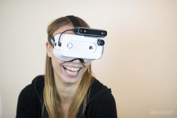 Bridge - гарнитура виртуальной и дополненной реальности для iPhone (9 фото + видео)