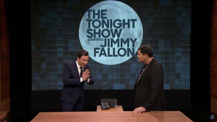 Nintendo Switch продемонстрировали вживую на Ночном шоу с Джимми Фэллоном