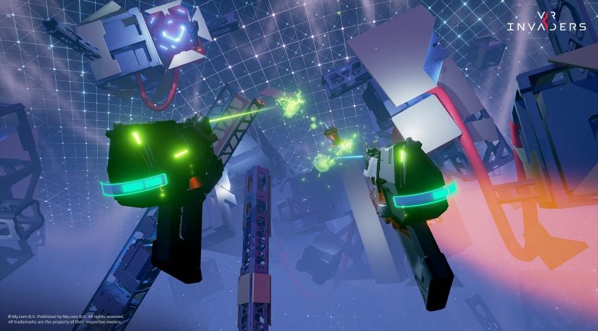 Mail.Ru назвала дату релиза игры VR Invaders для виртуальной реальности