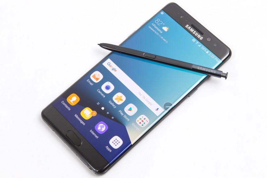 Возможно, что Galaxy Note 7 перестанет заряжаться в США с 15 декабря