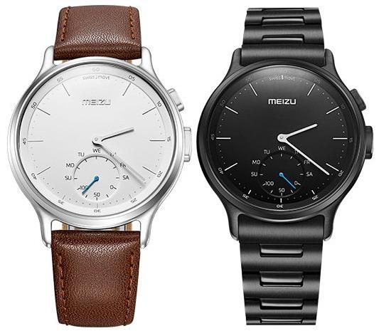 Объявлены российские цены на классические часы Meizu Mix со смарт-функциями