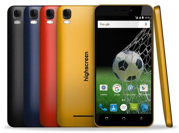 LTE-смартфон Highscreen Easy L с емкой батареей стоит дешевле 7,5 тысяч рублей