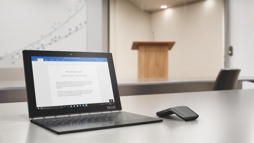 Lenovo выпустит Yoga Book на Chrome OS в 2017 году