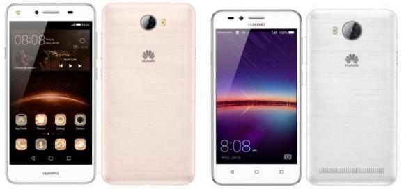 Huawei готовит новое поколение смартфонов Y3 и Y5