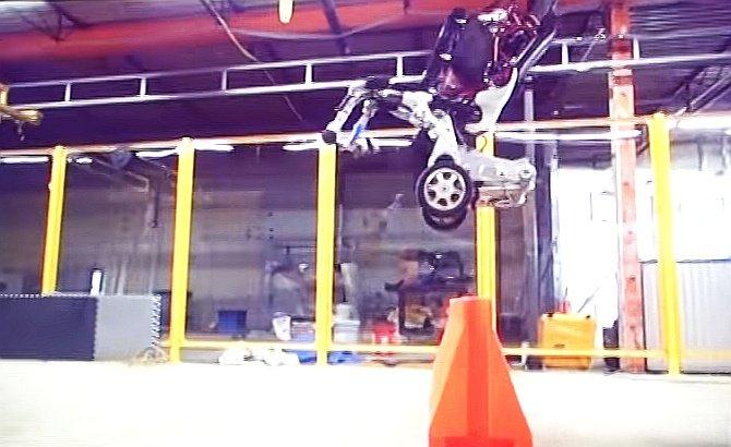Робот-гимнаст из Boston Dynamics (видео)