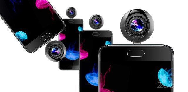Камера-шар для съемки 360-градусных роликов со смартфона (2 фото)