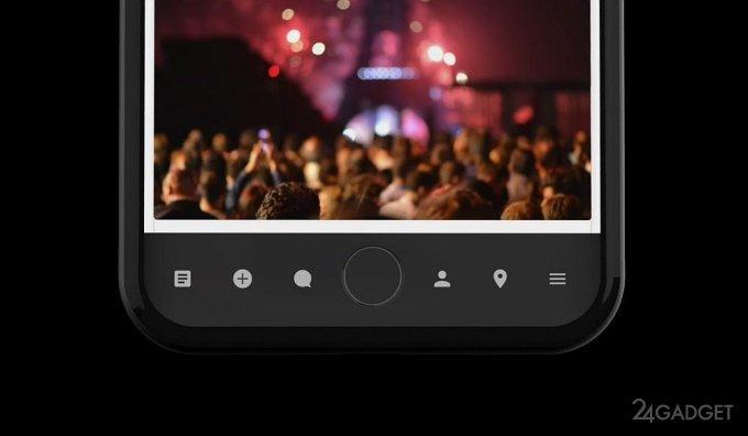 iPhone 8 — стеклянный и с панелью Touch Bar (видео)