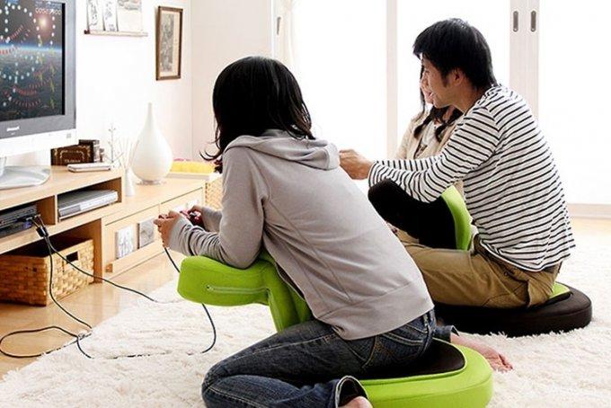 Идеальное кресло для любителей консольных игр (7 фото)
