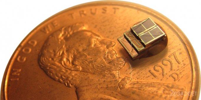 Micromote - самый маленький в мире компьютер размером в 1 кубический мм (3 фото)