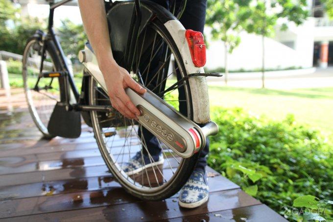 Съемный ease превращает обычный велосипед в электрический (9 фото + видео)