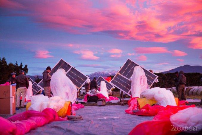 В Project Loon изменят стратегию покрытия Земли интернет-шарами (видео)