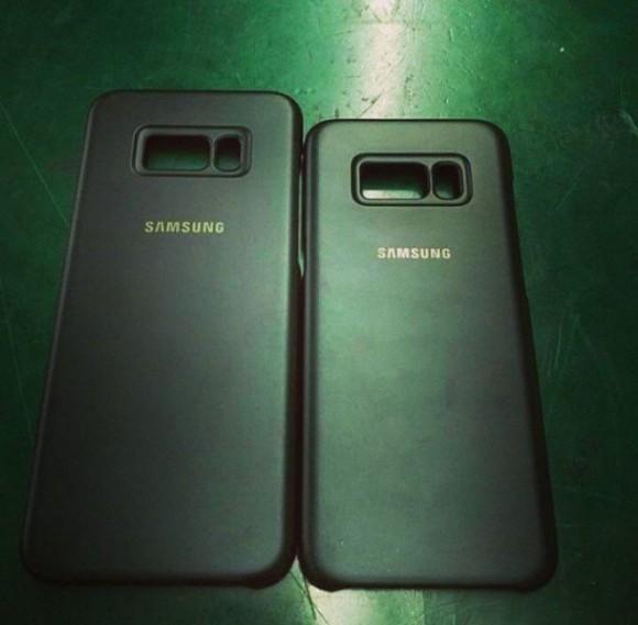 Официальные чехлы для Samsung Galaxy S8 показались на фото