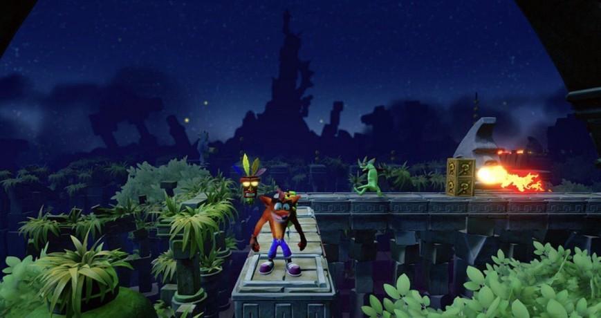 В сети появились новые изображения Crash Bandicoot N. Sane Trilogy