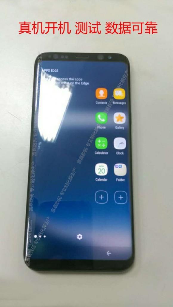 Samsung Galaxy S8 показался на фото вживую